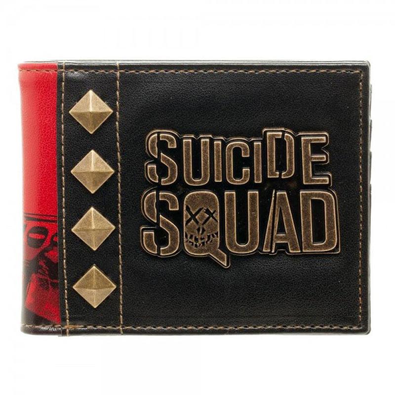 Suicide Squad Harley Quinn Logo Bi Fold Wallet