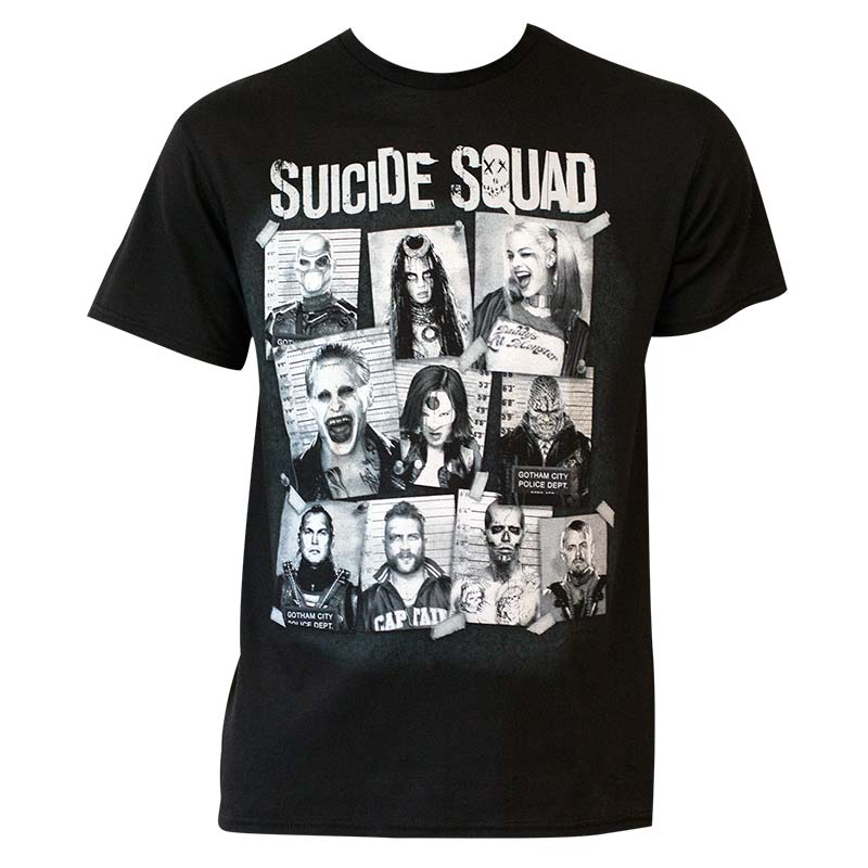 Suicide Squad Men's Mugshot T-Shirt