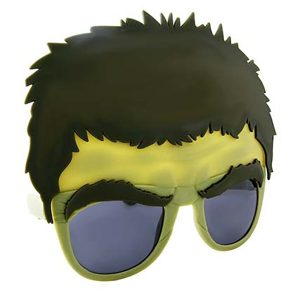 Hulk SunStache Sunglasses