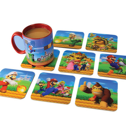 Super Mario Bros. N64 3D Coaster Set