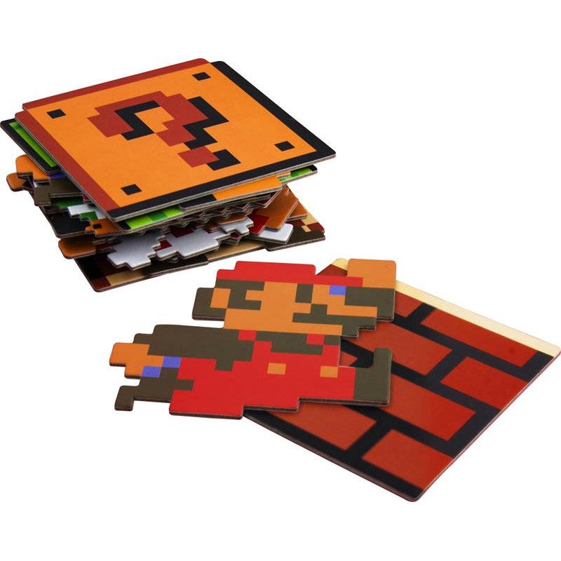 Super Mario Bros. Vintage Coaster Set