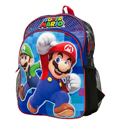 Mario and Luigi Mario Brothers Backpack