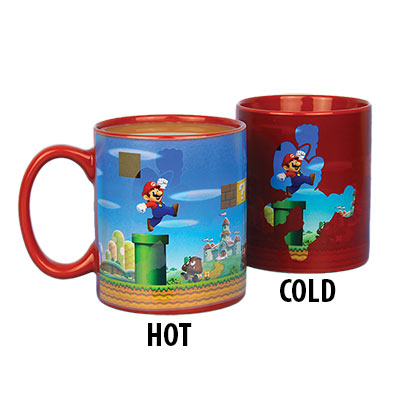 Super Mario Bros. Red Color Changing Mug