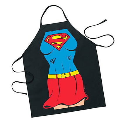 DC Comics Superman Supergirl Apron