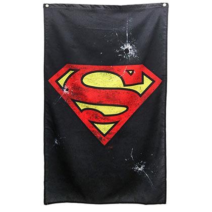 Superman Black Wall Banner