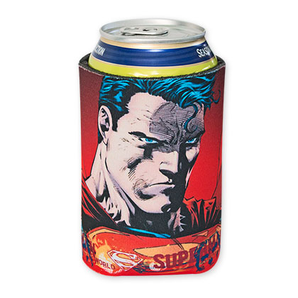 DC Superman Determination Beer Can Cooler