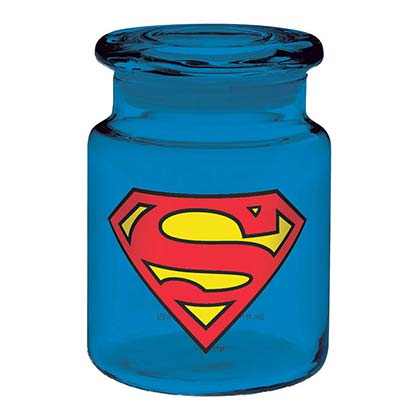 Superman Blue Apothecary Jar