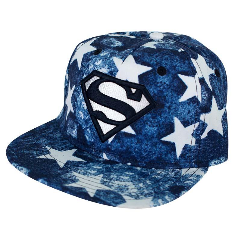 Superman Denim Stars Hat