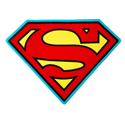Superman 8 Inch Patch