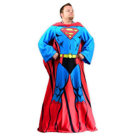 Superman Costume Snuggie Blanket