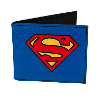 Superman Logo Bifold Wallet