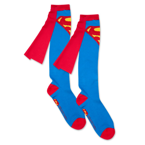 Superman Cape Socks - Superman Cape Socks SuperheroDen.com