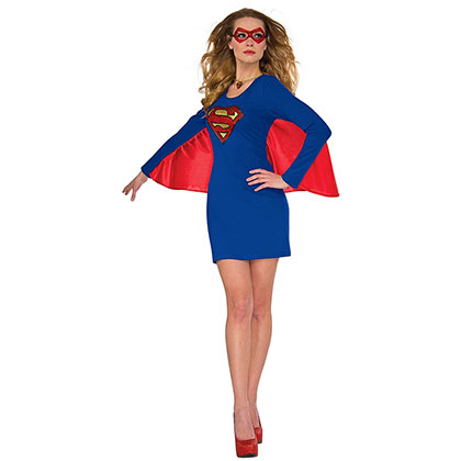 Superman Supergirl Women's Winged Dress