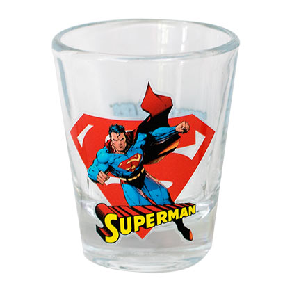 Superman Character Shot Glass