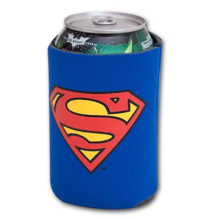 Superman Symbol Logo Can Cooler