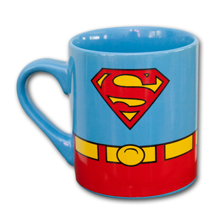 Superman Mug Uniform Superheroden Com