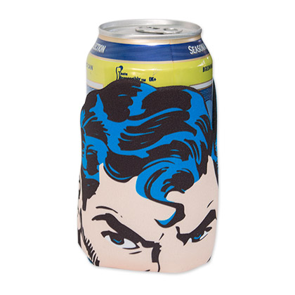DC Superman Diecut Can Cooler