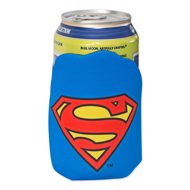 DC Superman Can Cooler