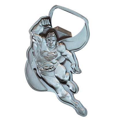 Superman Flying Metal Bottle Opener