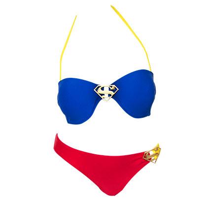 Supergirl Ring Bandeau Bikini