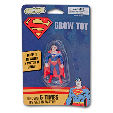 Superman Water Grow Toy