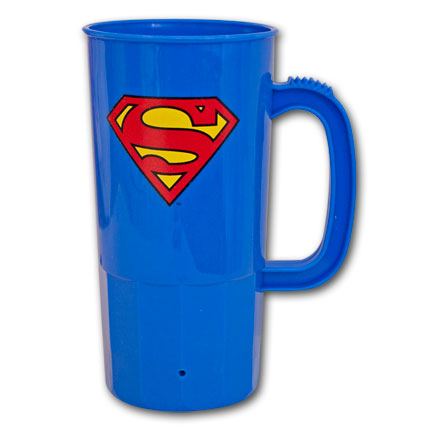Superman Logo Stein