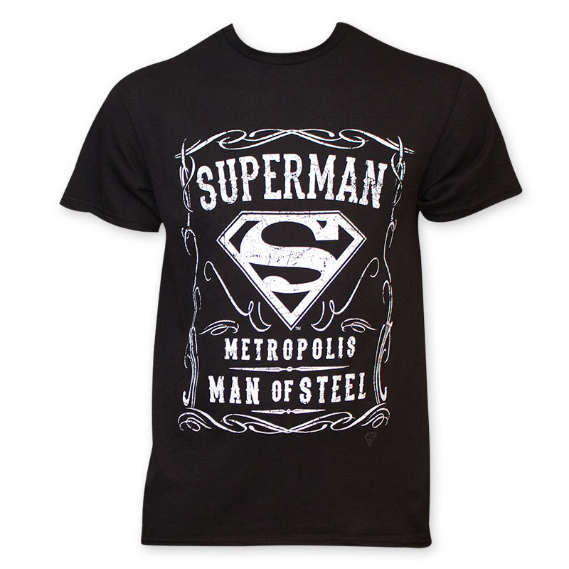 623b9e39777 item was added to your cart. Item. Price. Superman Men s Black Whiskey  Style T-Shirt