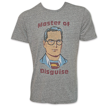 Superman Junk Food Brand Master Of Disguise Shirt