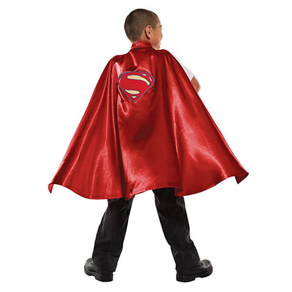 Superman Red Youth Deluxe Cape