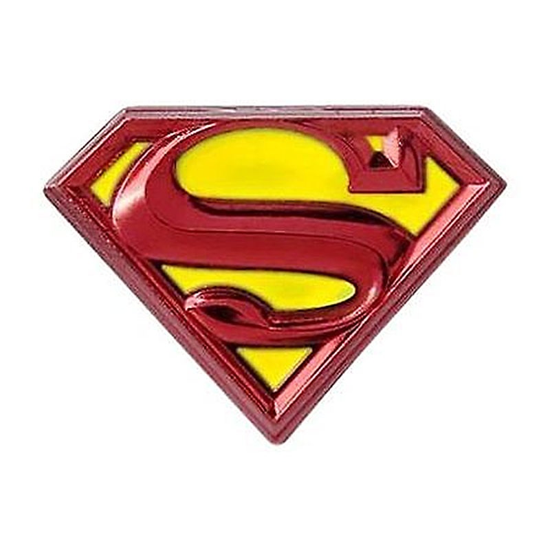Superman Logo Lapel Pin