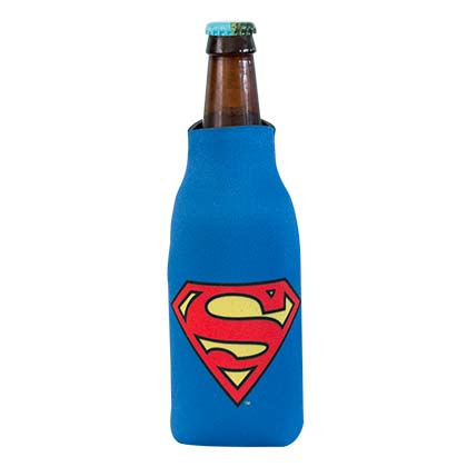 DC Superman Comic Bottle Cooler