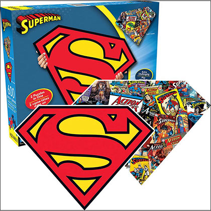 Superman Two Sided Puzzle