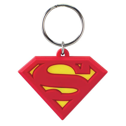 SUPERMAN LOGO KEYCHAIN PLACEHOLDER