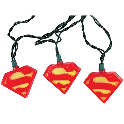 Superman Indoor String Lights