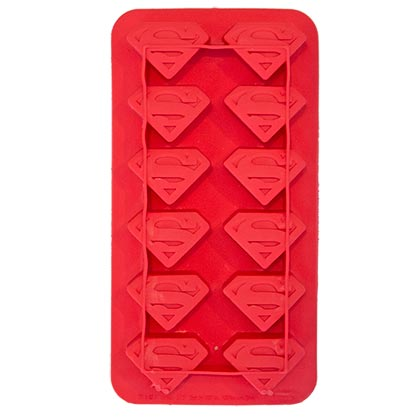 DC Superman Red Ice Tray