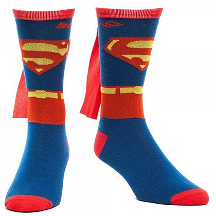 Superman Men's Cape Socks