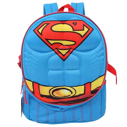 Superman Blue Body Armor Backpack