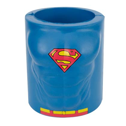 DC Comics Superman Foam Blue Can Cooler