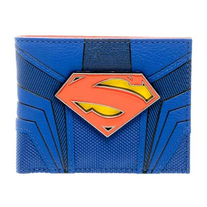Superman Bifold Suit Up Wallet