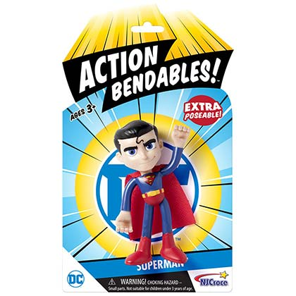 Superman Action Bendables Action Figure Toy