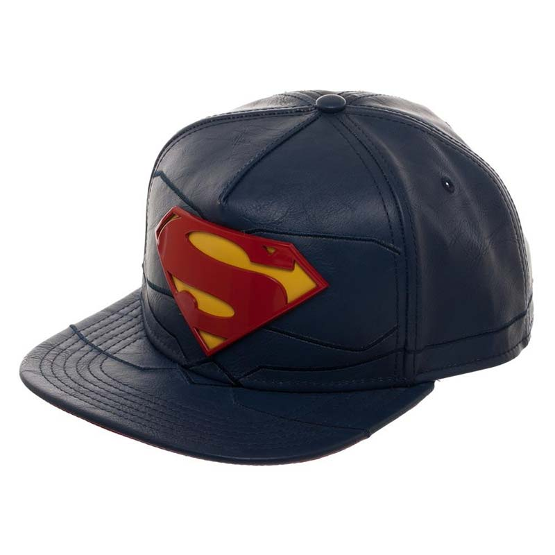 Superman Rebirth Suit Up PU Fabric Men's Hat