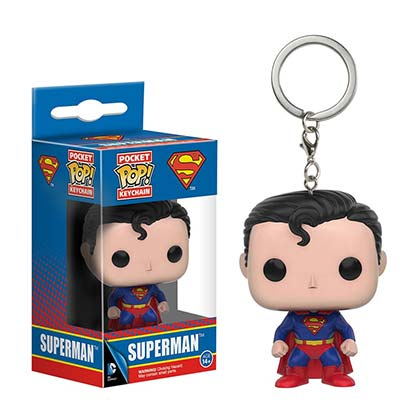Superman Funko Pop Keychain