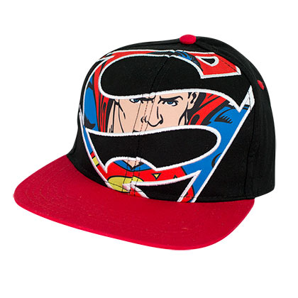 Superman Sublimated Snapback Hat