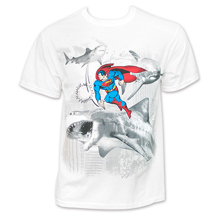 Superman Sharknado Shirt