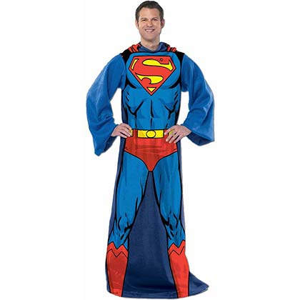 Superman Adult Muscle Snuggie