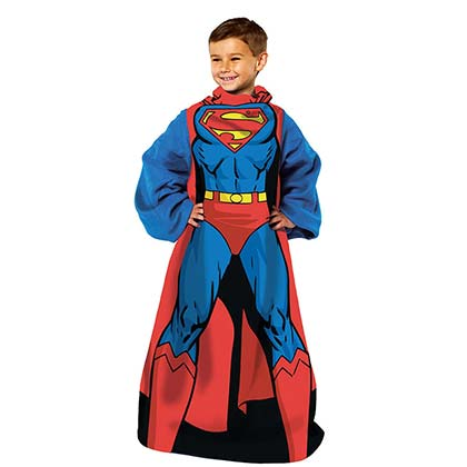 Superman Youth Muscle Snuggie