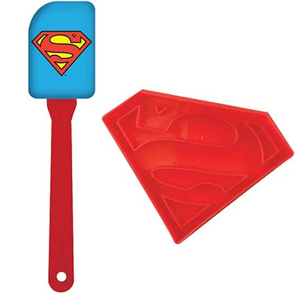 Superman Spatula and Cookie Cutter Set