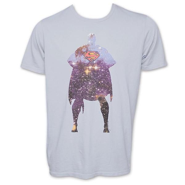 Superman Galaxy Junk Food Brand Shirt