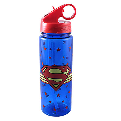 Superman 600ML Water Bottle
