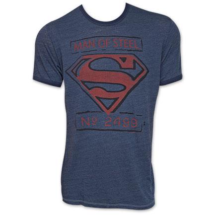 Superman Junk Food Brand Man Of Steel Shirt